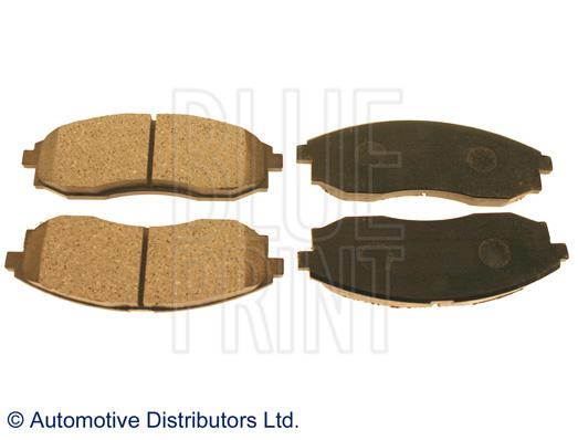 Kit de plaquettes de frein, frein à disque - BLUE PRINT - ADG04273