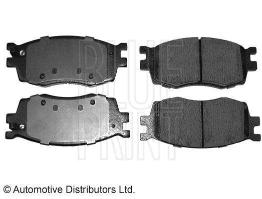 Kit de plaquettes de frein, frein à disque - BLUE PRINT - ADG04279