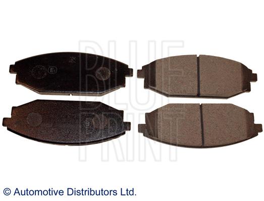 Kit de plaquettes de frein, frein à disque - BLUE PRINT - ADG04287
