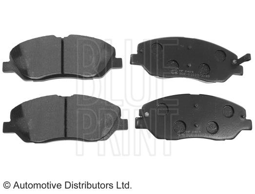 Kit de plaquettes de frein, frein à disque - BLUE PRINT - ADG04291