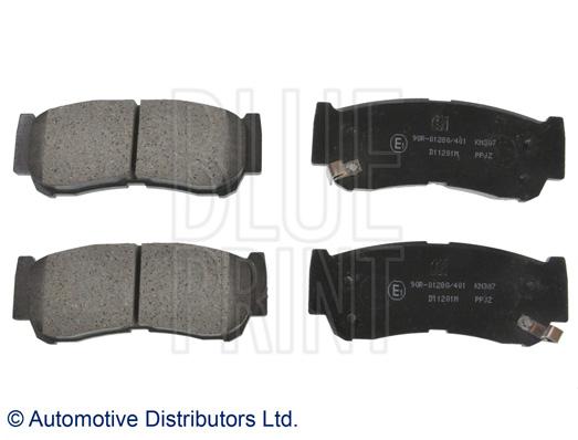Kit de plaquettes de frein, frein à disque - BLUE PRINT - ADG04292