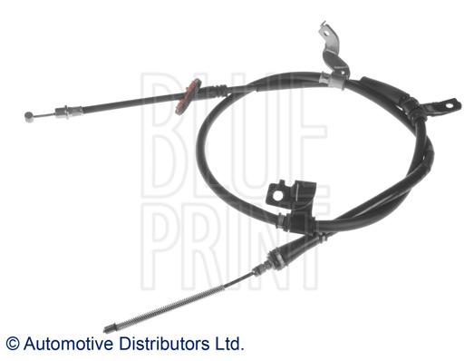 Tirette à câble, frein de stationnement - BLUE PRINT - ADG046198