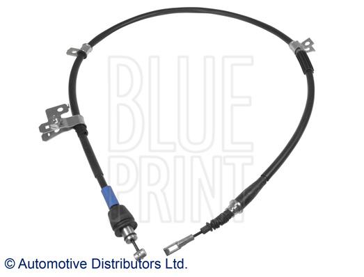 Tirette à câble, frein de stationnement - BLUE PRINT - ADG046200