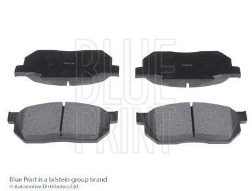 Kit de plaquettes de frein, frein à disque - BLUE PRINT - ADH24207