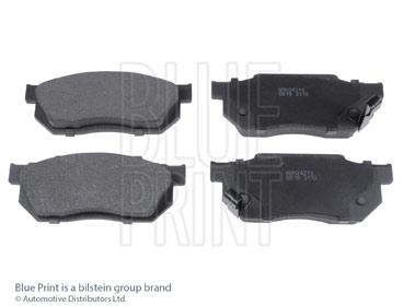 Kit de plaquettes de frein, frein à disque - BLUE PRINT - ADH24213