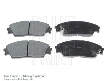 Kit de plaquettes de frein, frein à disque - BLUE PRINT - ADH24218