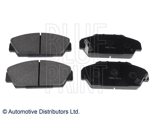 Kit de plaquettes de frein, frein à disque - BLUE PRINT - ADH24235