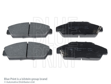 Kit de plaquettes de frein, frein à disque - BLUE PRINT - ADH24242