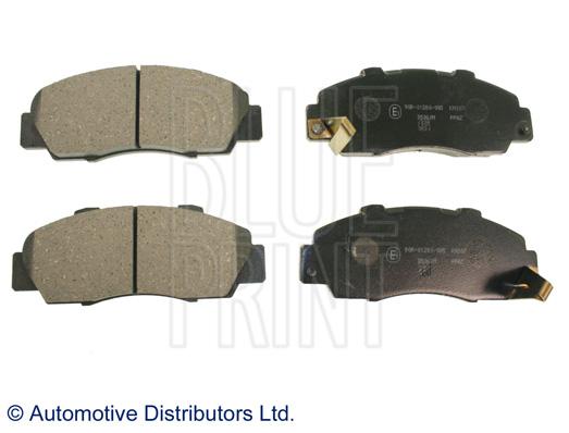 Kit de plaquettes de frein, frein à disque - BLUE PRINT - ADH24246