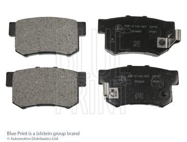 Kit de plaquettes de frein, frein à disque - BLUE PRINT - ADH24247