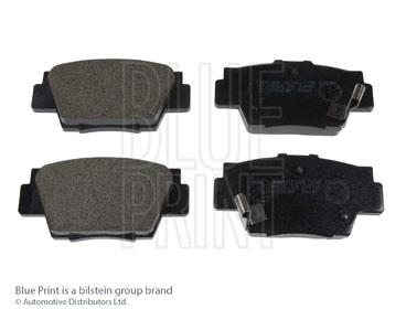 Kit de plaquettes de frein, frein à disque - BLUE PRINT - ADH24249