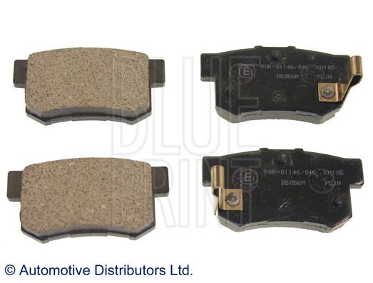 Kit de plaquettes de frein, frein à disque - BLUE PRINT - ADH24250
