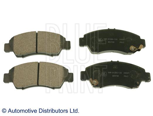 Kit de plaquettes de frein, frein à disque - BLUE PRINT - ADH24253