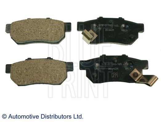 Kit de plaquettes de frein, frein à disque - BLUE PRINT - ADH24254