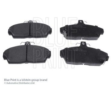 Kit de plaquettes de frein, frein à disque - BLUE PRINT - ADH24260