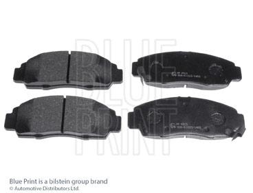 Kit de plaquettes de frein, frein à disque - BLUE PRINT - ADH24263