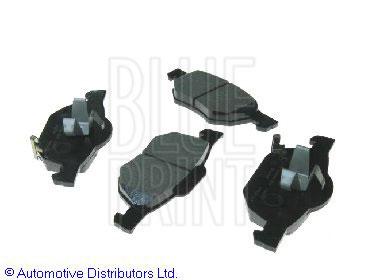 Kit de plaquettes de frein, frein à disque - BLUE PRINT - ADH24266