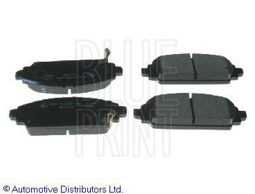 Kit de plaquettes de frein, frein à disque - BLUE PRINT - ADH24267