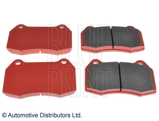 Kit de plaquettes de frein, frein à disque - BLUE PRINT - ADH24270