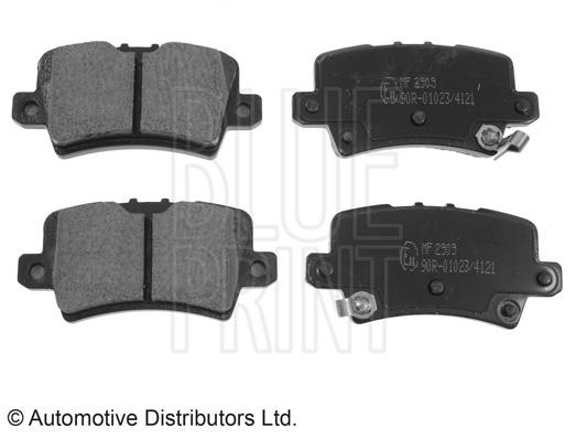 Kit de plaquettes de frein, frein à disque - BLUE PRINT - ADH24272