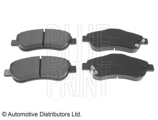 Kit de plaquettes de frein, frein à disque - BLUE PRINT - ADH24275