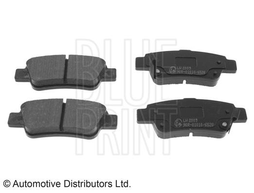 Kit de plaquettes de frein, frein à disque - BLUE PRINT - ADH24276