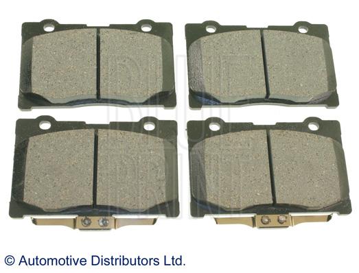 Kit de plaquettes de frein, frein à disque - BLUE PRINT - ADH24277