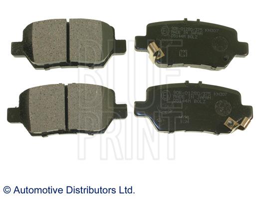 Kit de plaquettes de frein, frein à disque - BLUE PRINT - ADH24278