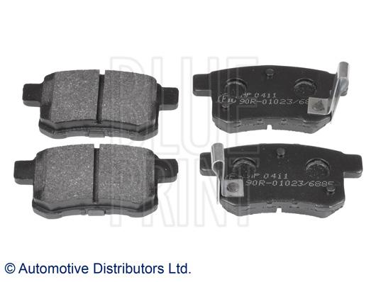 Kit de plaquettes de frein, frein à disque - BLUE PRINT - ADH24281