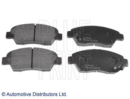Kit de plaquettes de frein, frein à disque - BLUE PRINT - ADH24287