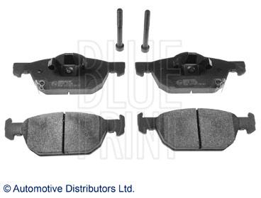 Kit de plaquettes de frein, frein à disque - BLUE PRINT - ADH24290