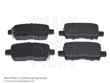 Kit de plaquettes de frein, frein à disque - BLUE PRINT - ADH24295