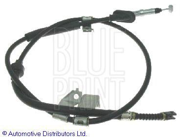 Tirette à câble, frein de stationnement - BLUE PRINT - ADH24697