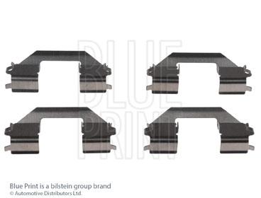 Kit d'accessoires, plaquette de frein à disque - BLUE PRINT - ADH248606