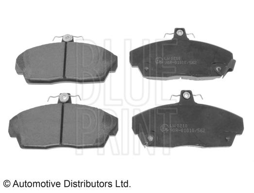 Kit de plaquettes de frein, frein à disque - BLUE PRINT - ADJ134203
