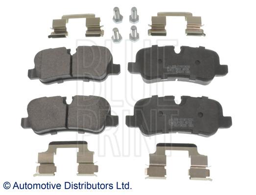 Kit de plaquettes de frein, frein à disque - BLUE PRINT - ADJ134205