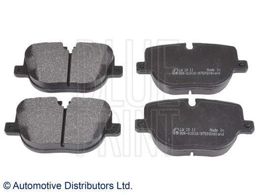 Kit de plaquettes de frein, frein à disque - BLUE PRINT - ADJ134208
