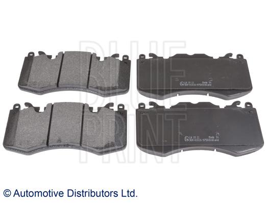 Kit de plaquettes de frein, frein à disque - BLUE PRINT - ADJ134209