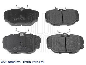 Kit de plaquettes de frein, frein à disque - BLUE PRINT - ADJ134217