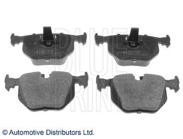 Kit de plaquettes de frein, frein à disque - BLUE PRINT - ADJ134218