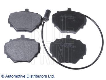 Kit de plaquettes de frein, frein à disque - BLUE PRINT - ADJ134222