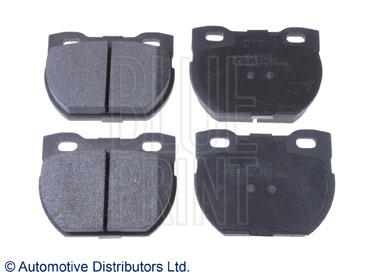 Kit de plaquettes de frein, frein à disque - BLUE PRINT - ADJ134223