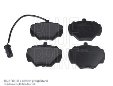 Kit de plaquettes de frein, frein à disque - BLUE PRINT - ADJ134225