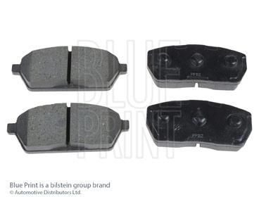 Kit de plaquettes de frein, frein à disque - BLUE PRINT - ADK84212