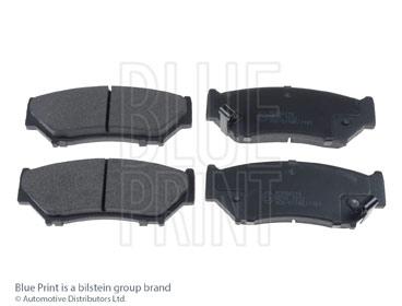 Kit de plaquettes de frein, frein à disque - BLUE PRINT - ADK84219