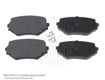 Kit de plaquettes de frein, frein à disque - BLUE PRINT - ADK84222