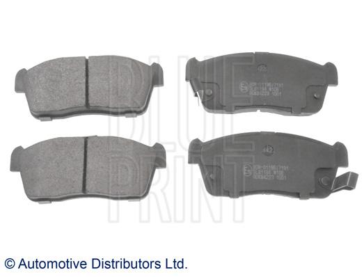Kit de plaquettes de frein, frein à disque - BLUE PRINT - ADK84223