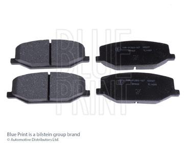 Kit de plaquettes de frein, frein à disque - BLUE PRINT - ADK84224