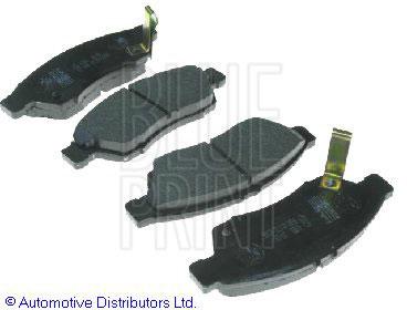 Kit de plaquettes de frein, frein à disque - BLUE PRINT - ADK84231