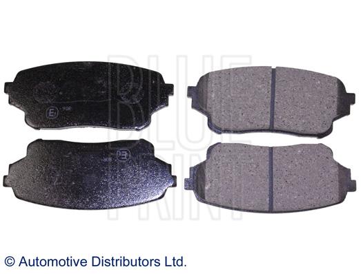 Kit de plaquettes de frein, frein à disque - BLUE PRINT - ADK84233